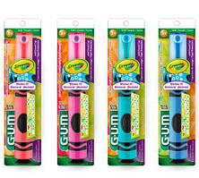 GUM Crayola Power Toothbrush Электрическая зубная щетка