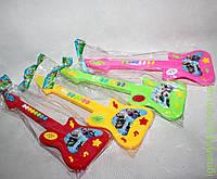 Www Гитара на бат., 4 цвета, в пакете