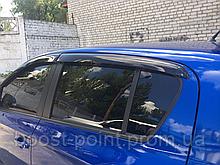 Дефлекторы окон (ветровики) Hyundai i20 (хюндай ай20) 2008+ 3d/5d
