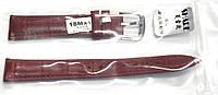 Ремешок 054 кожа красный 14 мм