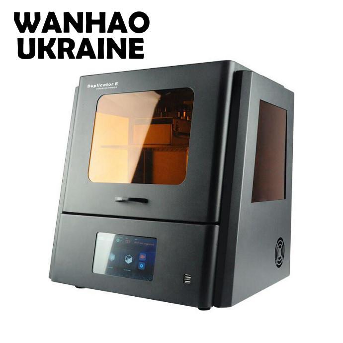 3D ПРИНТЕР WANHAO DUPLICATOR D8 фотополимерный SLA LCD
