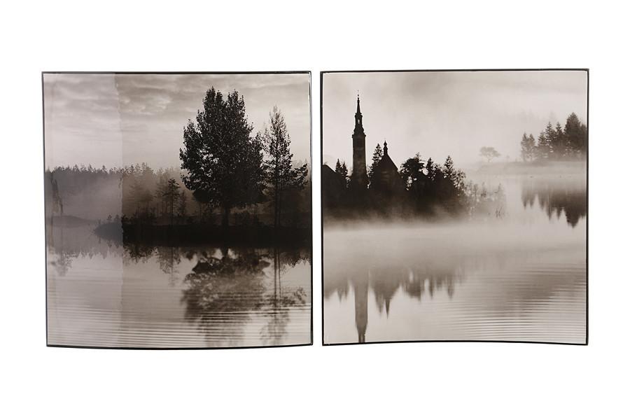Комплект картин Brookpace 2 шт. 38х38 см, 534-030