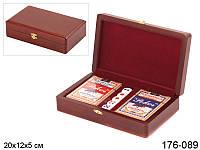 Игра настольная - покер Lefard 20х12х5 см, 176-089