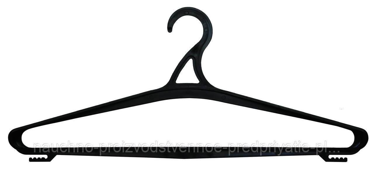 Вешалка - плечико размер 54 № 06 черная.