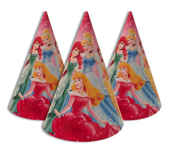 """Колпачки, колпаки праздничные, маленькие, """"Шесть принцесс"""""""