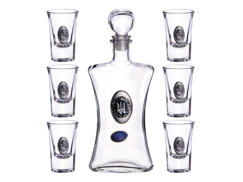 Набор для водки Franco Тризубец 7 предметов , 316-959