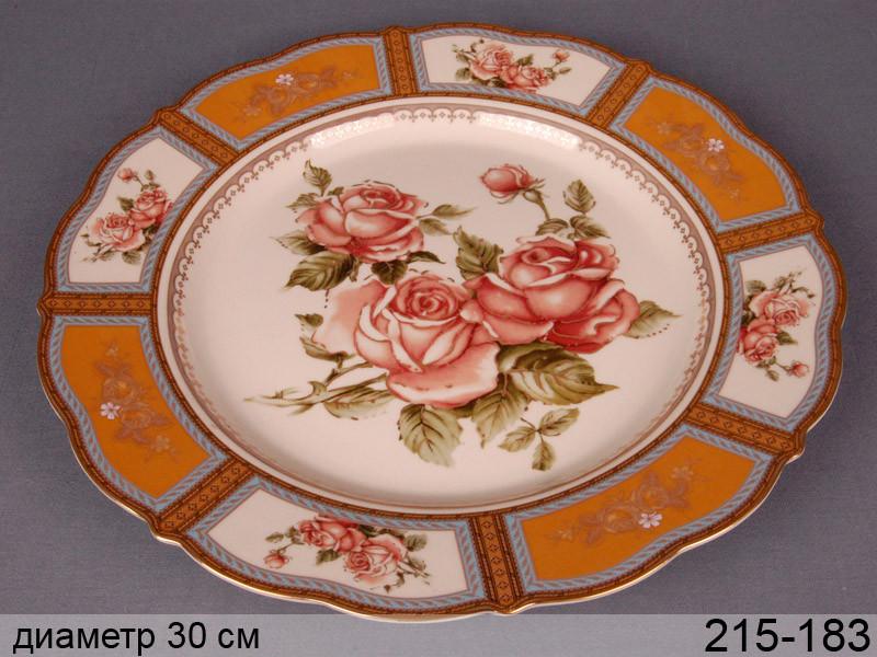 Блюдо Lefard Корейская роза 29 см, 215-183