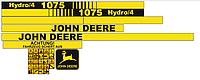 Наклейки на комбайн John Deere 1075 hydro 4