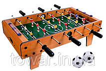 Деревянный футбольный стол 70x37x25 см мини