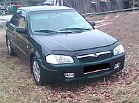 Дефлектор капота (мухобойка) Mazda 323 BJ /Familia (мазда фамилия 1998г-2003г)