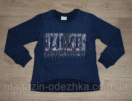 """Світшот /джемпер для дівчинки 116-128-134-140-152 зростання, """"Breeze"""" Туреччина, фото 2"""