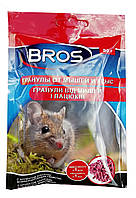 Гранулы от мышей и крыс Брос Bros 90гр, фото 1