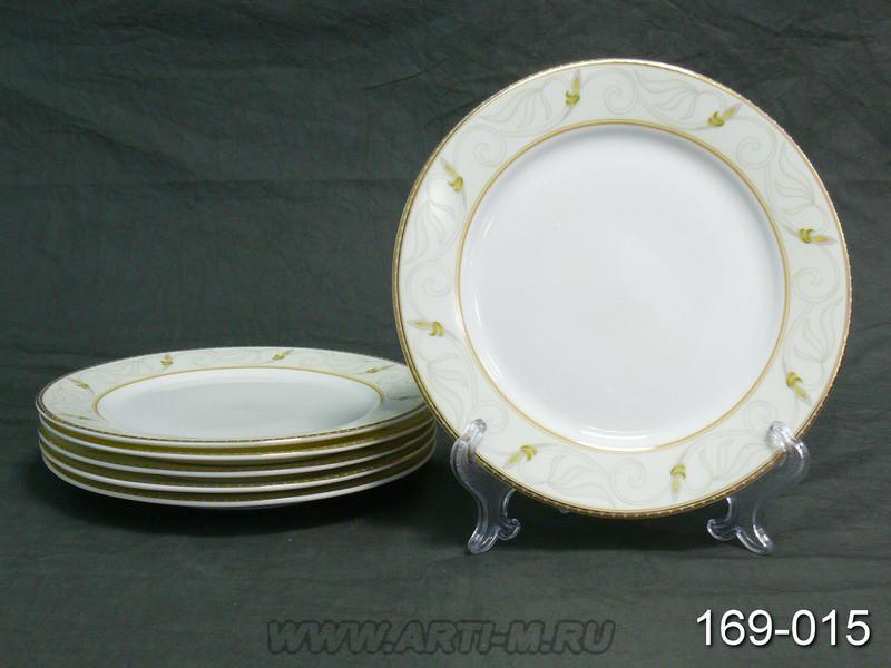 Набор тарелок Lefard из 6шт костяной фарфор 20 см, 169-015