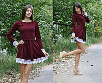 Осеннее платье беби долл