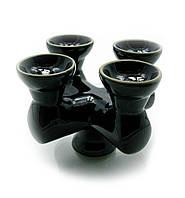 """Чашка для кальяна """"4х"""" (16,5х16,5х11 см)"""