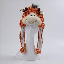Шапка-маска Жираф