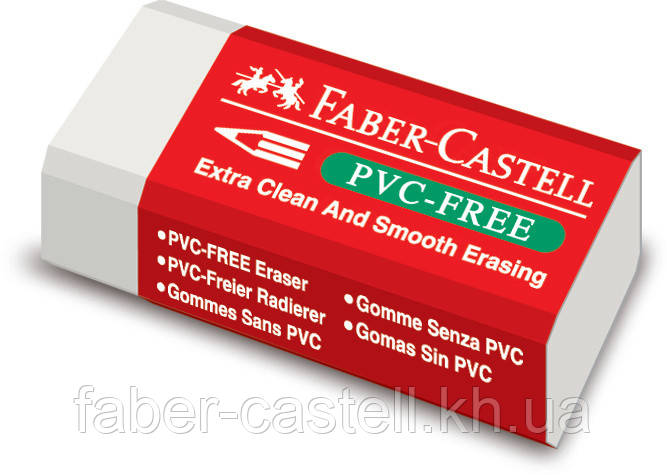 Ластик Faber-Castell  виниловый белый , 189530