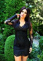 Нарядное атласное платье, фото 1