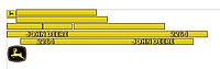 Наклейки на комбайн John Deere 2264