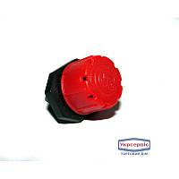 Капельница внешняя (красная) для капельного полива