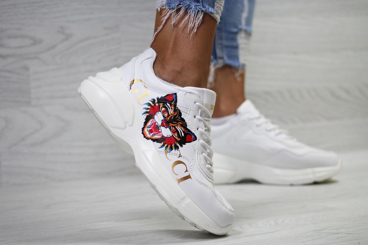7685e5f88d8d Кроссовки женские Gucci популярные стильные, модные кроссовки 2018,  фирменные топовые ...