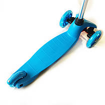Трехколесный самокат 21Scooter - Mini - Синий для детей, фото 2
