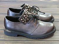 Женские модные туфли на шнуровке Fabio Monelli