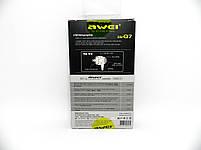Наушники Awei ES-Q8 Black, фото 2