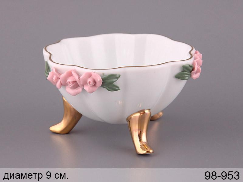 """Фруктовница """"розы"""" 9 см, Lefard, 98-953"""