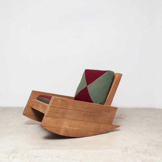 Кресло-качалка дизайнерская RELAX А200231
