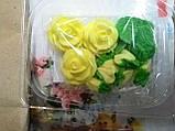 """Набір """"Букет троянд"""" БІЛІ, фото 3"""