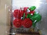 """Набір """"Букет троянд"""" БІЛІ, фото 4"""