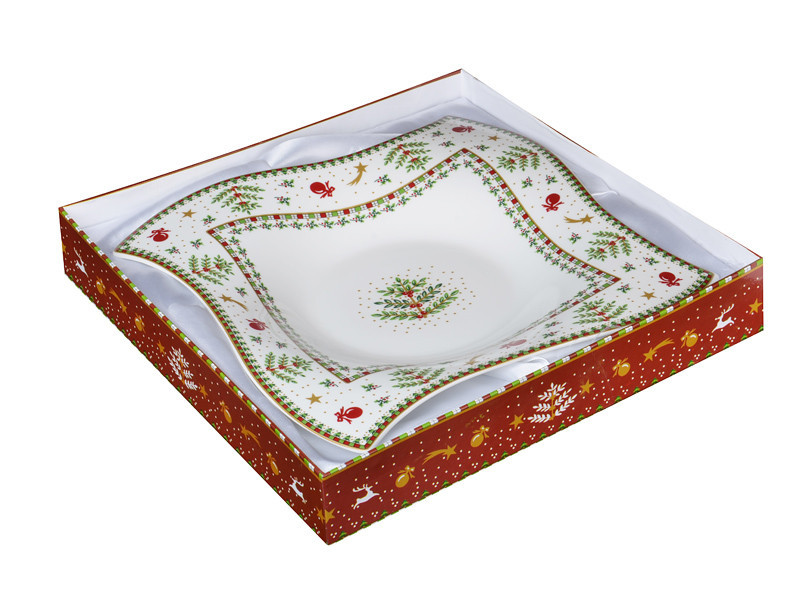"Блюдо ""Сhristmas collection"" 26*26 см., Lefard, 586-330"