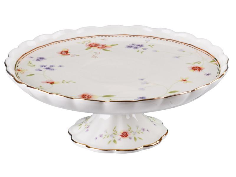 """Блюдо для торта """"Каролина"""" 21,5 см, Lefard, 943-104"""
