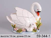 """Банка для сыпучих продуктов """"лебедь"""" 24*19 см, Lefard, 59-344-1"""