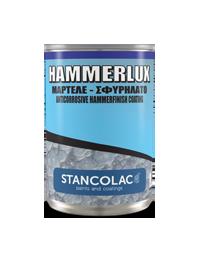 Краска молотковая Hammerlux Stancolac (20 л) Серебристая