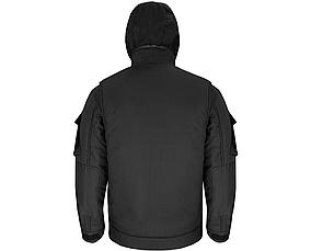 "Куртка (бушлат) зимний ""Милитари"" Черный , фото 3"
