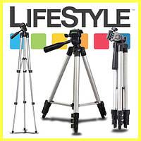 Штатив для камеры и телефона WT-3110A (35-102 см), фото 1