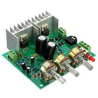 DIY набор - Аудио усилитель 2.0 15 Вт + 15 Вт TDA2030A hifi