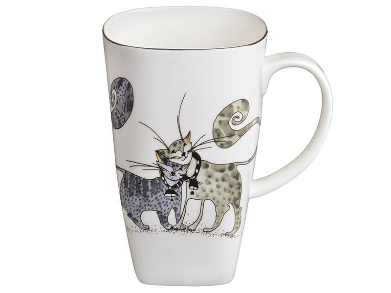 """Кружка """"Веселые коты"""", 650 мл, Lefard, 264-297"""