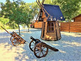 Строительство баз отдыха. Кредитование строительства деревянных домов