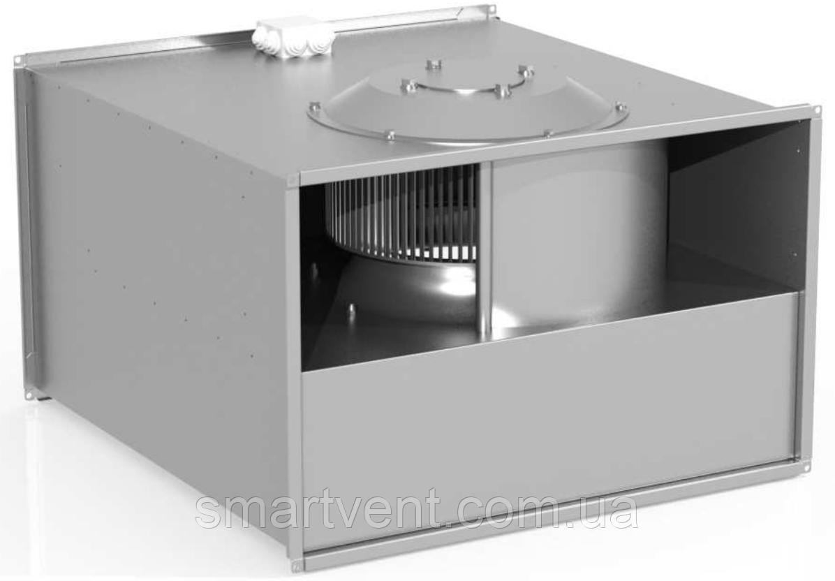 Вентилятор канальный Веза прямоугольный КАНАЛ-ПКВ-100-50-4-380