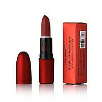 Помада MAC Satin Rouge A Levres ( Палітрою 12 шт) червона коробка 8814