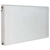 Радиатор Термия медноалюминиевый 50/40 см с нижним подключением и термоклапаном, фото 1