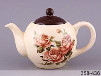 """Чайник заварочный """"Корейская роза"""", 950 мл, Lefard, 358-436"""