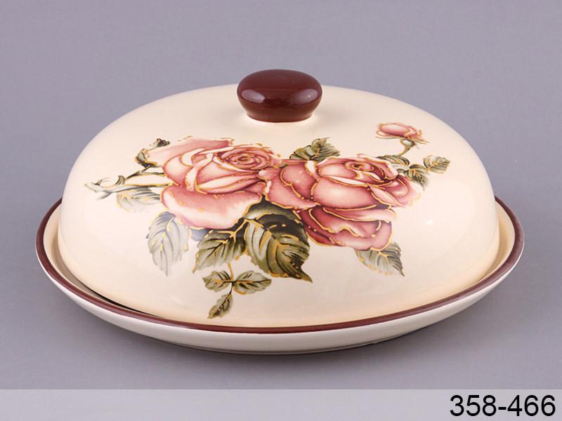 """Блюдо для блинов """"Корейская роза"""" с крышкой, 23 см, Lefard, 358-466"""