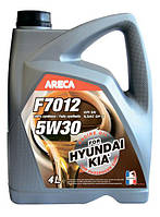 Синтетическое моторное масло Areca F7012 5w30 For Kia Hyundai 4L