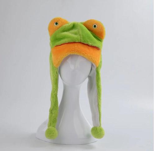 Шапка-маска Лягушка