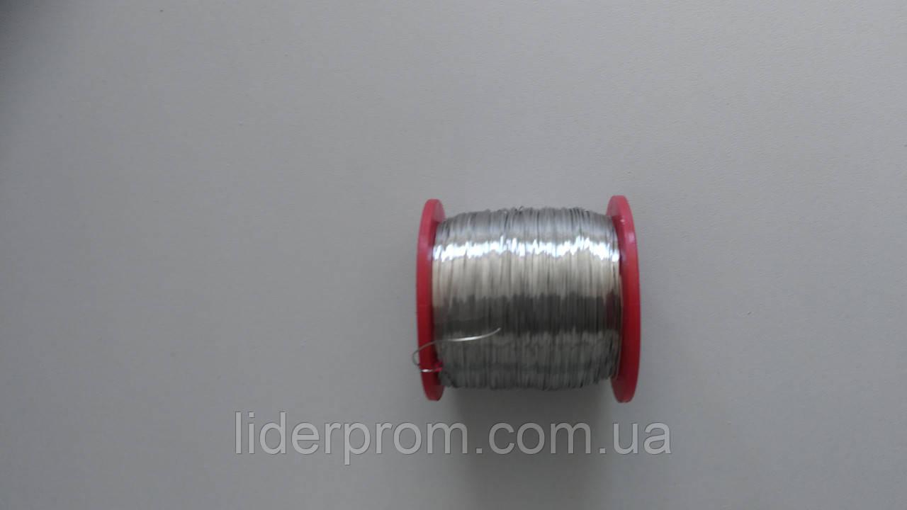 Проволока 0,4 мм для пчеловодческих рамок 250 грамм Нержавейка.LYSON Польша