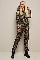 Защитный женский зимний лыжный комбинезон, фото 1